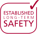 Established long-term safety graphic